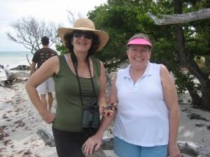 Judy (Arizona) and Mary Jo (Sanibel)