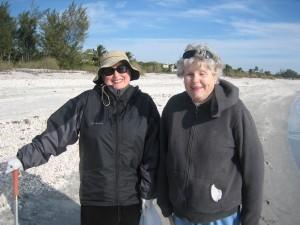 Jane (Restin, Va) and Judy (Sanibel)