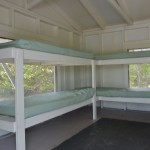 Cayo Costa cabin bunk beds