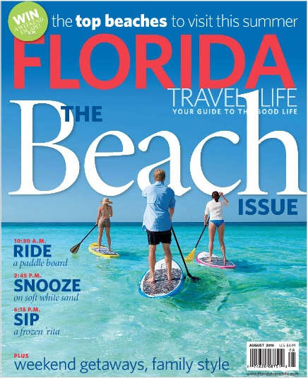 Florida Travel & Life interview with shellebrity Pam Rambo