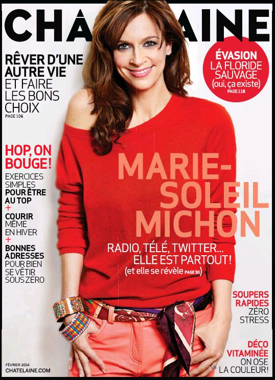 chatelaine magazine with sheller Pam Rambo