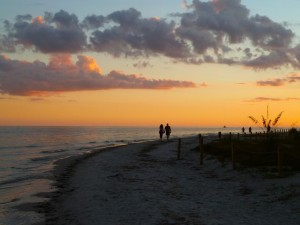 Romantic Sanibel Sunset