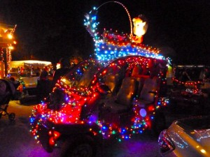 Captiva Holiday parade Jensens