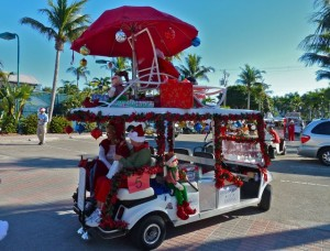 Captiva Holiday parade biz winner