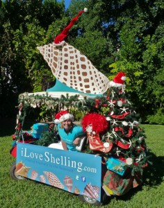 Captiva Holiday parade float iLoveShelling.com