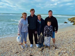 Shelling family on Captiva