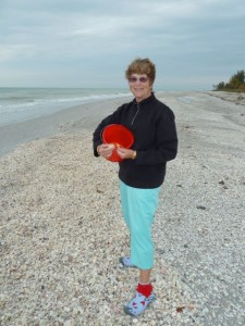 Sanibel Anne shelling