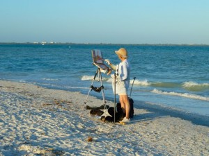 Painting Sanibel