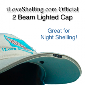 2 Beam lighted cap