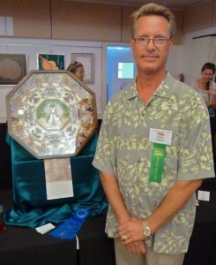 David Rhyne shell crafter