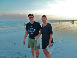 Robert and Eileen Sanibel shellers