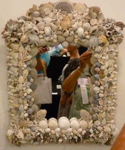 Shell Fair Seashell mirror