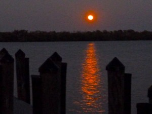 Super Moon over Buck Key