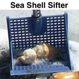 susick seashell sifter shelling scoop