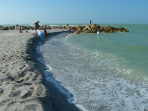 Captiva beach erosion