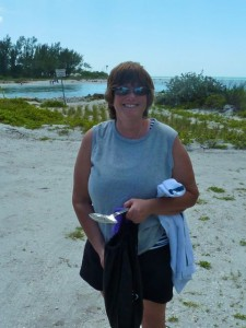 Karen at Blind Pass Captiva