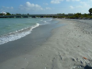 Sanibel bare beach Blind Pass