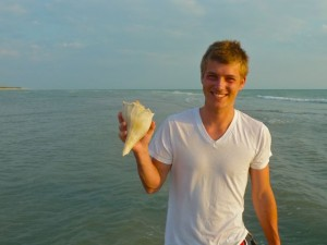 Derek whelk shell