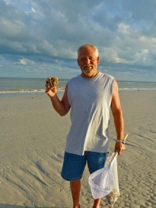 Jim whelk Sanibel  beach