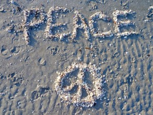 Peace on the beach Sanibel