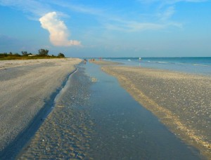Sanibel low tide
