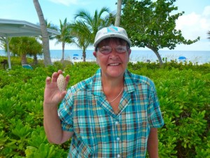 Carla with Junonia Sanibel