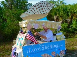 Sanibel parade float