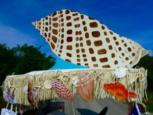 Seashell mobile top junonia