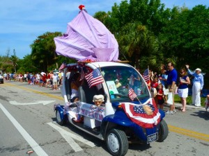 Shell Museum Sanibel parade 2011