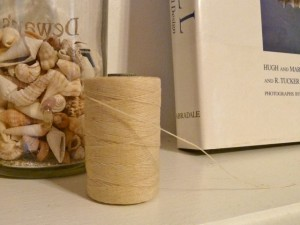 Waxed linen spool