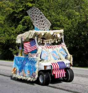 ils sanibel parade shell cart