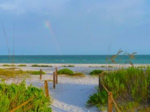 rainbow beach path