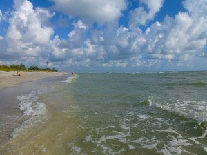 Blind Pass beach Sanibel