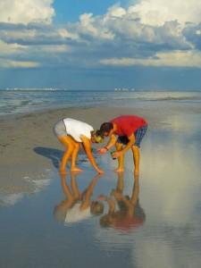 Sanibel Crabbing