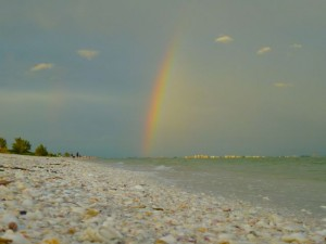 under the sanibel rainbow