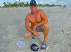 Donnie Sanibel beach