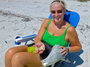 Jennifer Sanibel cones whelk