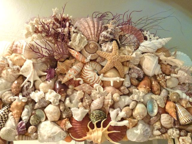 Things To Make With Seashells http://www.iloveshelling.com/blog/2011/09/19/tips-to-decorate-your-home-with-seashells/