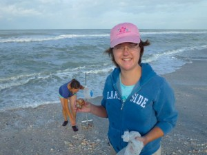 Charity with whelk captiva
