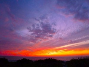 captiva island dramatic sunset