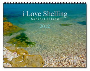 i Love Shelling 2012 calendar cover