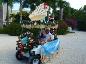iLoveShelling com golf cart parade