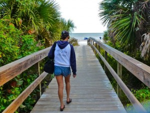 Miyuki on sanibel boardwalk beach access