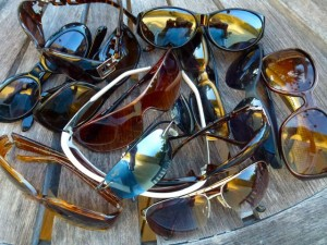 shelling sunglasses