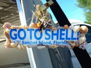 Go to shell sign