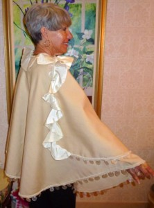 Mary Buck seashell cloak