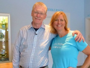 Bill Geist and Pam Rambo