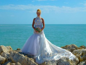 captiva island seashell gown