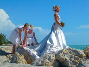 coastal wedding seashells