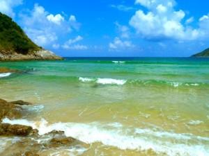 Phuket beach thai